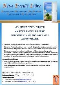 JOURNEE DECOUVERTE du RVE EVEILLE LIBRE DIMANCHE 1