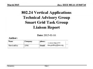 March 2015 doc IEEE 802 11 150457 r