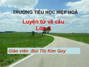 TRNG TIU HC HIP HO Luyn t v