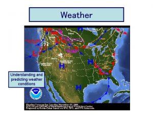 Weather Understanding Predicting Weather Conditions Understanding and predicting