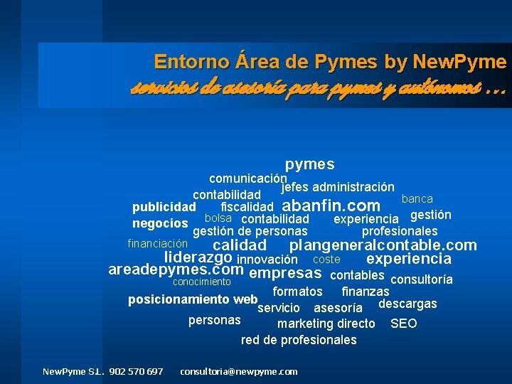Entorno rea de Pymes by New Pyme servicios