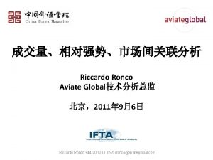 Riccardo Ronco Aviate Global 2011 96 Riccardo Ronco