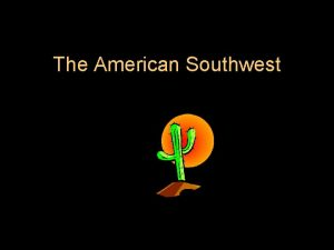 The American Southwest States and Capitals l Arizona