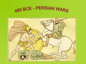 Persian Wars Cause of wars Athenian support of