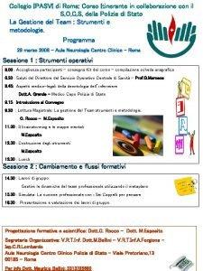 Collegio IPASVI di Roma Corso Itinerante in collaborazione