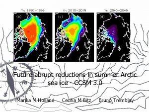 Future abrupt reductions in summer Arctic sea ice