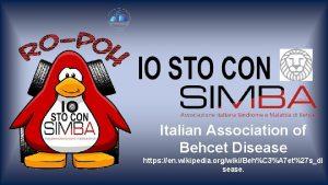 Italian Association of Behcet Disease https en wikipedia