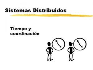 Sistemas Distribuidos Tiempo y coordinacin Tiempo y coordinacin