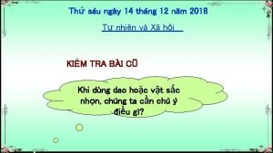 Th su ngy 14 thng 12 nm 2018