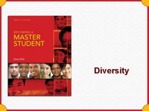 Diversity Diversity Is Valuable Embracing diversity adds value
