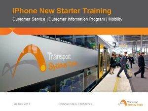 i Phone New Starter Training Customer Service Customer
