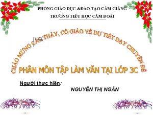 PHNG GIO DC O TO CM GING TRNG