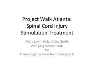 Project Walk Atlanta Spinal Cord Injury Stimulation Treatment