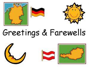 Greetings Farewells Most Common Greetings Guten Morgen Guten