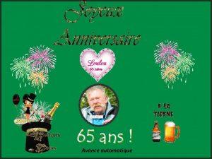 65 Jahre Avance automatique Allez montre a Loulou