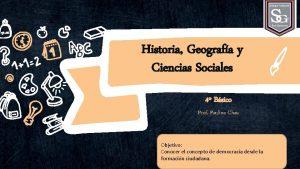 Historia Geografa y Ciencias Sociales 4 Bsico Prof