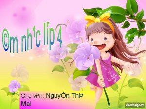 Gio vin Nguyn Th Mai Kim tra bi