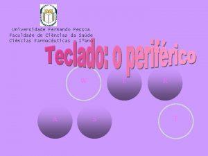 Universidade Fernando Pessoa Faculdade de Cincias da Sade