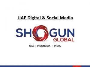 UAE Digital Social Media Social Media Infographics 2015