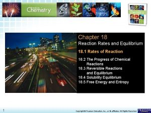 18 1 Rates of Reaction Chapter 18 Reaction