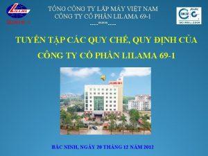 TNG CNG TY LP MY VIT NAM CNG