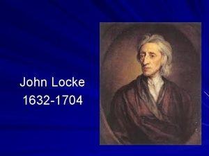 John Locke 1632 1704 Na ausncia de Governo