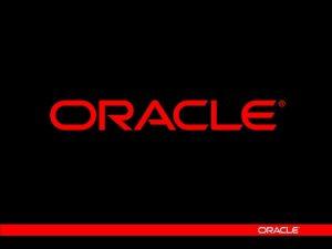 Oracle Applications Framework Jason Reedy Sales Consultant jason
