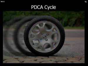 FICCI CE PDCA Cycle FICCI CE PDCA Cycle