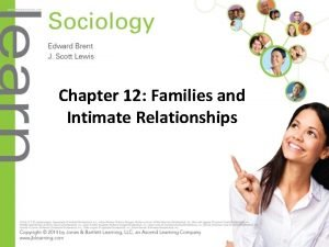 Chapter 12 Families and Intimate Relationships Objectives slide