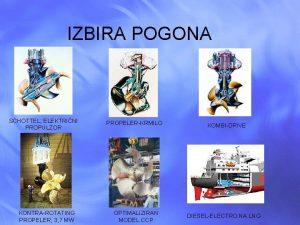 IZBIRA POGONA SCHOTTEL ELEKTRINI PROPULZOR KONTRA ROTATING PROPELER