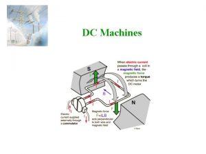 DC Machines DC Machines A DC Machine Armature