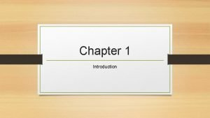 Chapter 1 Introduction 1 1 futures contracts A