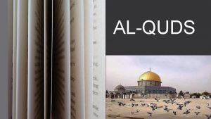 ALQUDS GENERAL INFORMATIONS COUNTRY PALESTNA POPULATION 931 756