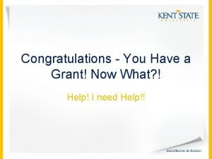 Congratulations You Have a Grant Now What Help