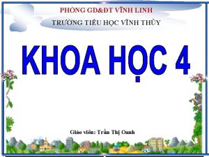 PHNG GDT VNH LINH TRNG TIU HC VNH