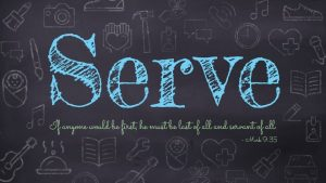 Service takes place when divine resources meet human