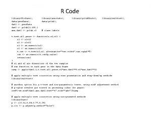 R Code libraryBiobase datagene Data dat 1 gene