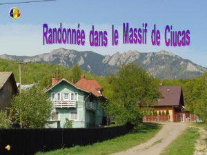 Notre randonne a debute du chalet Muntele Rosu
