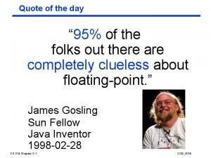 Quote of the day 95 of the folks