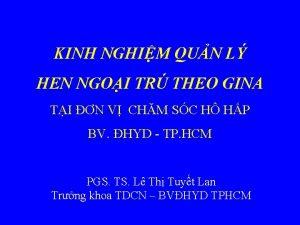 KINH NGHIM QUN L HEN NGOI TR THEO