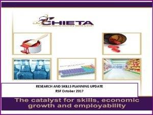 CHIETA The Catalyst for Enhanced Skills Economic Growth
