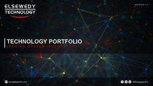 VERSION 0 3 TECHNOLOGY PORTFOLIO LEADING SYSTEM INTEGRATOR