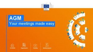 AGM Your meetings made easy What is AGM