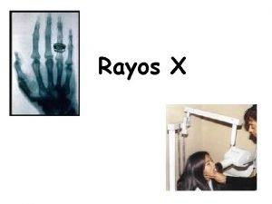 Rayos X Qu es una onda Es una