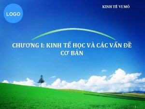 KINH T VI M LOGO CHNG I KINH