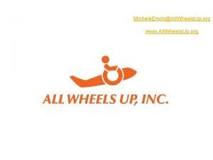 Michele ErwinAll Wheels Up org www All Wheels