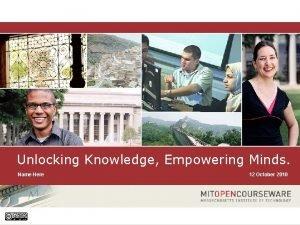 Unlocking Knowledge Empowering Minds Name Here 1 Unlocking