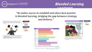 Blended Learning An online course to establish and