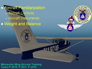 Scanner Course 2 l Aircraft Familiarization l Aircraft