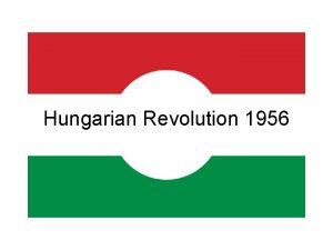 Hungarian Revolution 1956 Hungarian Uprising 1956 A revolution